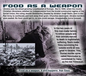 FOOD AS WEAPON