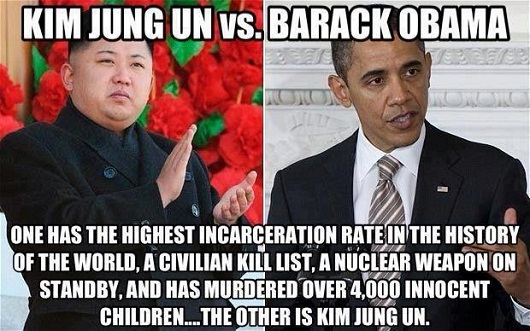 KIM JUNG UN vs. BARACK OBAMA | consciousshift2012