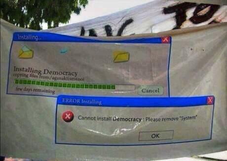 installing democracy
