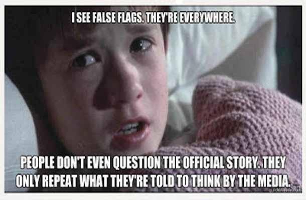 False Flags everywhere