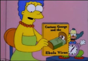 EBOLA VIRUS SIMPSONS