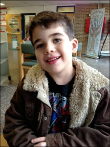 Photo of Noah Pozner, 6, one of the victims of the 2012 Sandy Hook school massacre.