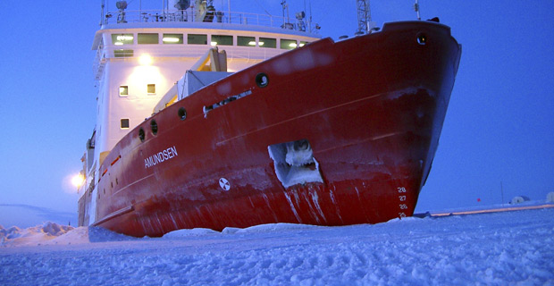 Arctic ice the worst it's been in 20 years, according to Coast Guard